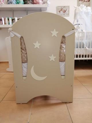 Krevetić Moon krem