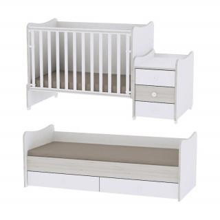 Krevet 5u1 white