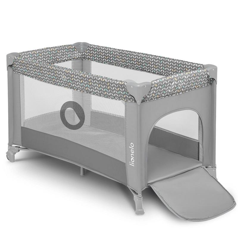Prenosni krevetac Stefi sivi