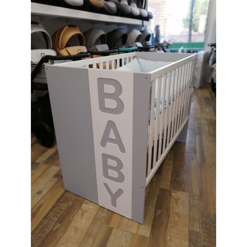 Krevetić Baby sivi
