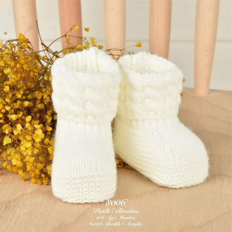 Pletene čarapice/patofnice za bebu