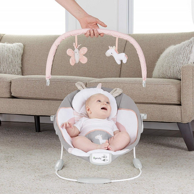 Lezaljka Ingenuity Cradling Bouncer Flora
