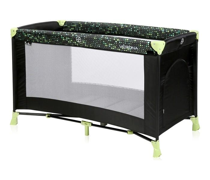 Prenosni krevetac Verona Black and Green