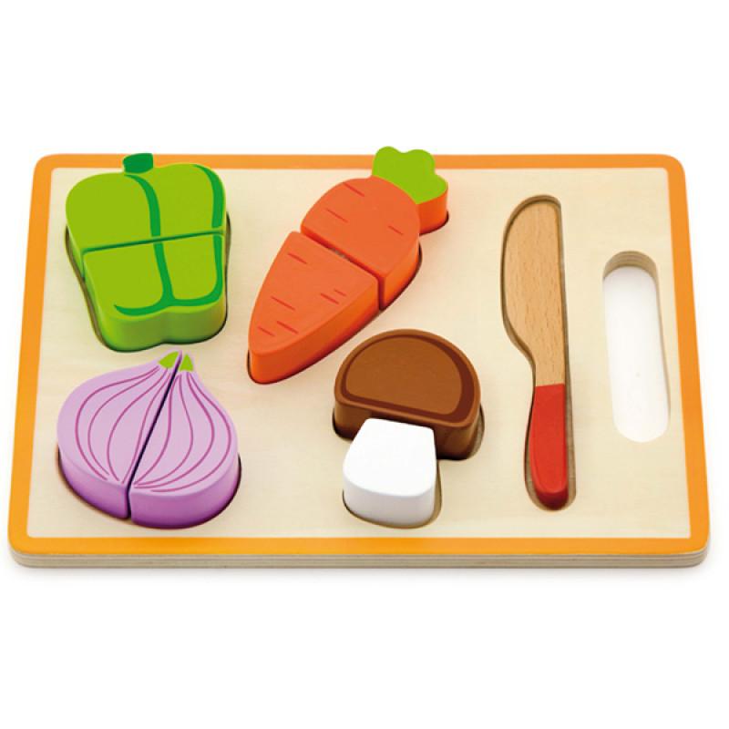 Drveni set povrće